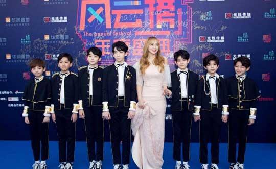 YHBOYS受邀出席《变5》首映礼 将献唱中国推广曲