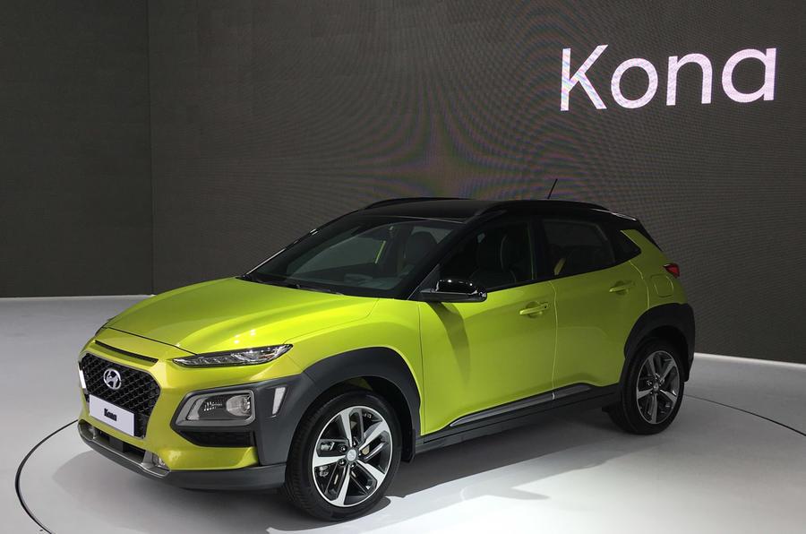 现代扩大SUV阵容 将推电动版Kona/两款新SUV