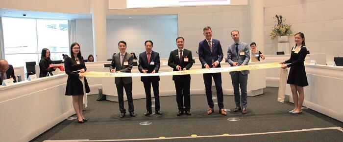 荷兰上海商会成立,黄晨当选首届主席