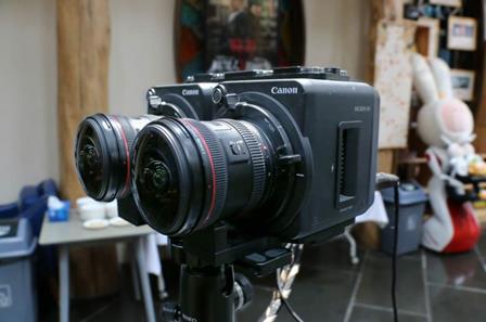 佳能ME200S-SH被应用于180°立体拍摄的全流程专业级VR解决方案