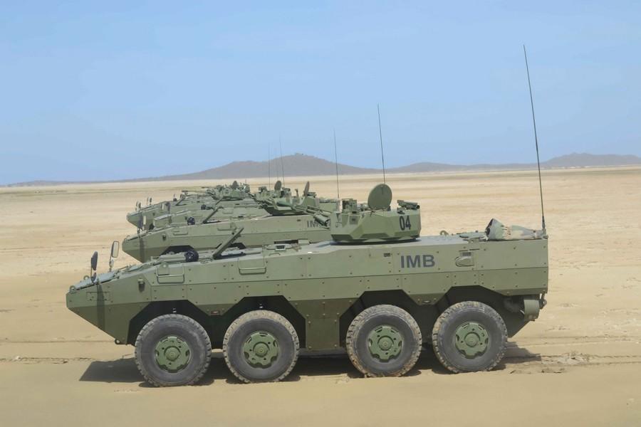 34辆装甲车价值6800万美元!中泰又签新军贸合同