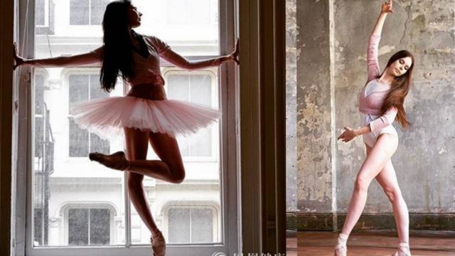 知名博主秀芭蕾舞照片 美到窒息!