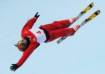 自由式滑雪空中技巧国家队在沈阳集训
