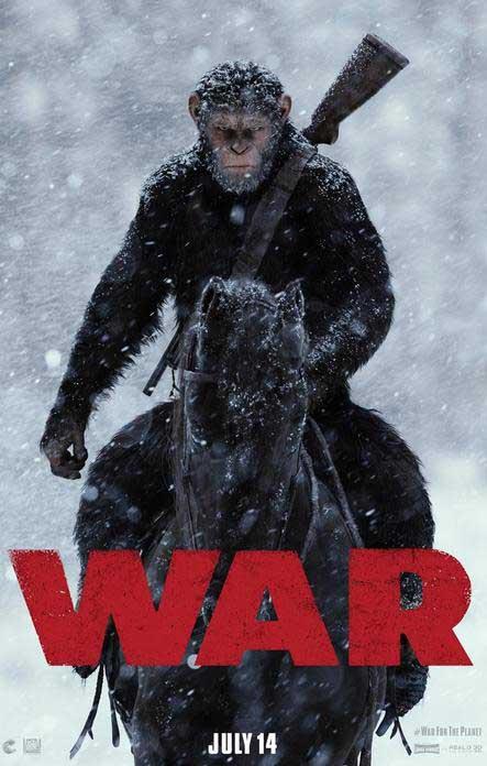 《猩球崛起3》预告曝新角色 凯撒打响反击大战