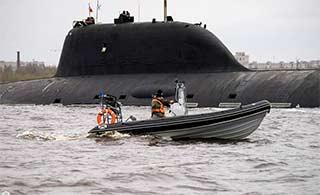 俄最强葡京赌场网站核潜艇近岸上浮