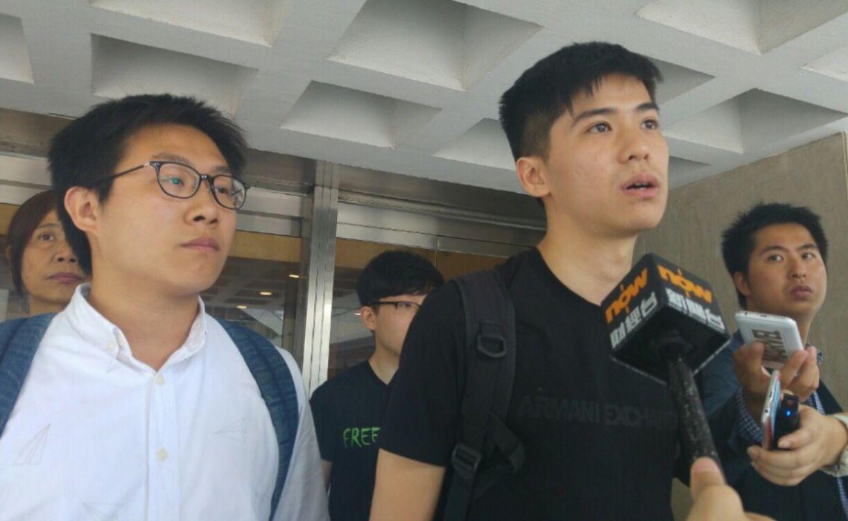 """港媒:""""占领旺角""""藐视法庭案预审 """"港独""""头目黄之锋等将认罪"""