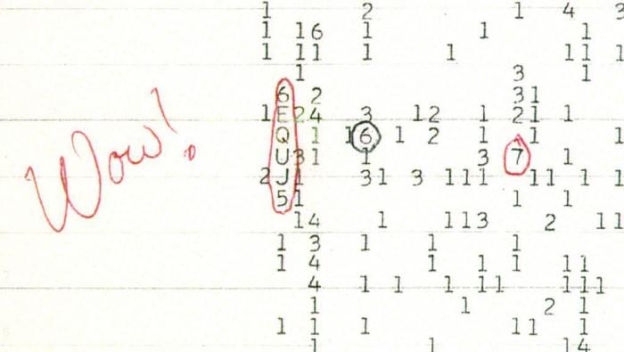 """一些科学家仍然相信""""Wow!信号""""来自外星人"""