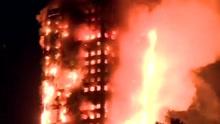 伦敦大火:母亲为让孩子活命 从高层抛下婴儿