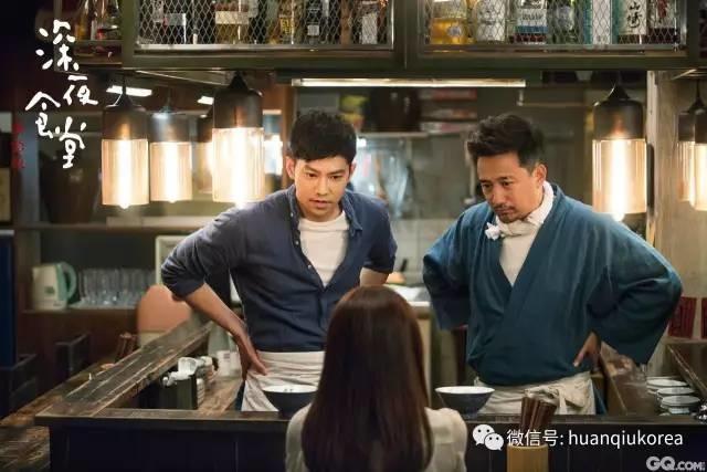 不忍心说,韩国也翻拍过《深夜食堂》,黄磊又被比下去了!