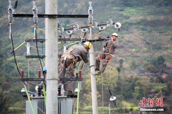 前5月全国用电量约2.43万亿千瓦时 同比增长6.4%
