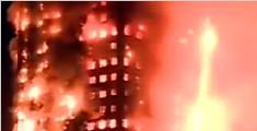 伦敦大火:母亲从高层抛下婴儿