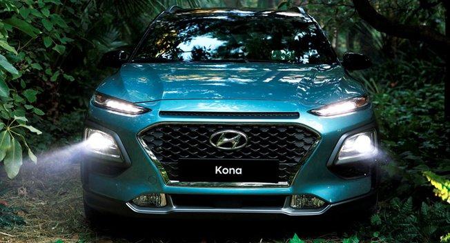 现代电动版Kona最早明年上市 续航或达390公里