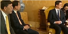 意大利总理真蒂洛尼会见韩正
