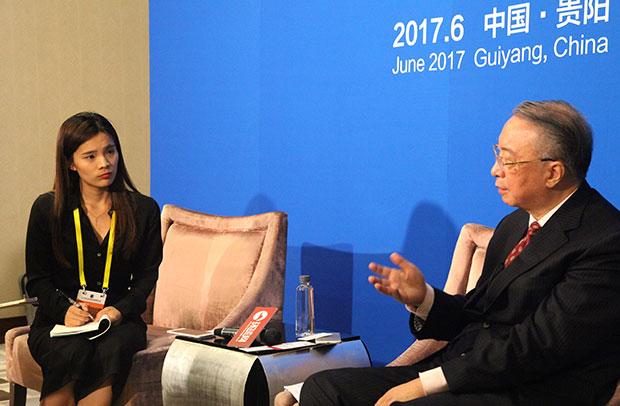 环球网专访生态文明贵阳国际论坛秘书长