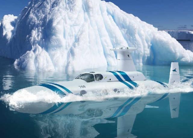 超奢侈的潜水艇:一次能带着20个乘客到海底探险