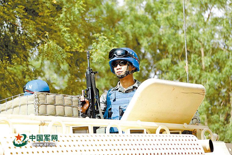 马里安全局势持续恶化 我维和官兵武装巡逻