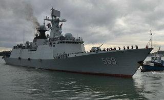 中国海军编队结束对新西兰访问