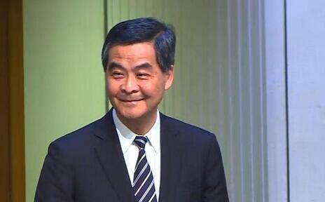 """梁振英:""""一国两制""""在香港的实践是成功的"""