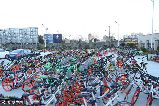 西安遭共享单车围城:专家称应多方协同治理
