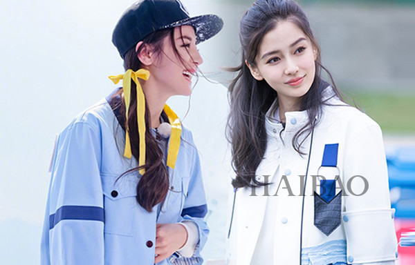流量女神pk战 杨颖angelababy和迪丽热巴你更爱哪个?