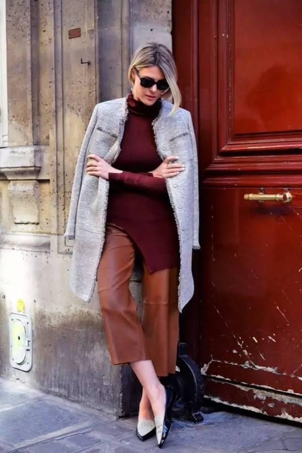 都知道阔腿裤百搭,那么长度该如何选最显腿长比例好?