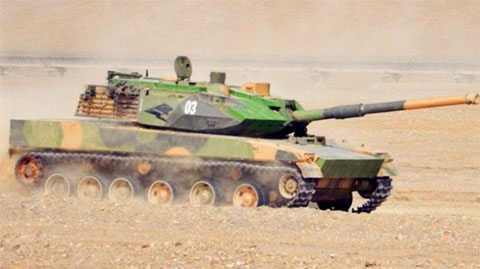 解放军新式坦克曝光 战力堪比三代主战坦克?