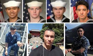 美宙斯盾舰7名死亡美军曝光