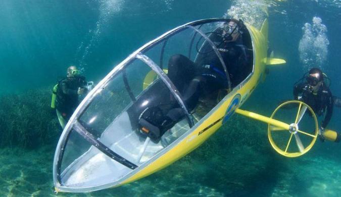 """几万元就可以购买""""潜水艇""""了 现有升级版"""