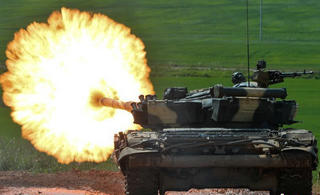 这个小国也来举办坦克大赛
