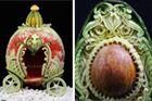 澳男子微雕蔬果栩栩如生