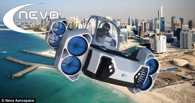 科技改变生活!单人飞行器亮相巴黎航展