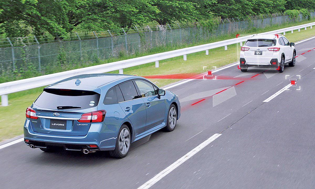 斯巴鲁Eyesight系统全面升级 带自动驾驶功能