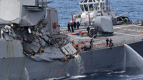 17年来最严重的一次 美国最强战舰发生了什么?