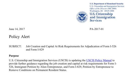 还款周期缩短?侨外美国移民EB-5律师解读最新政策指导