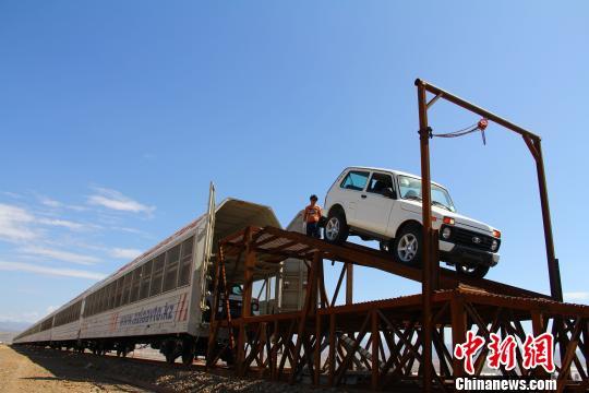 新疆阿拉山口综合保税区迎来最大规模进口整车
