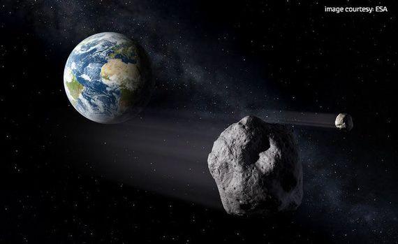 """在""""小行星日""""到来前 小行星近距离掠过地球"""