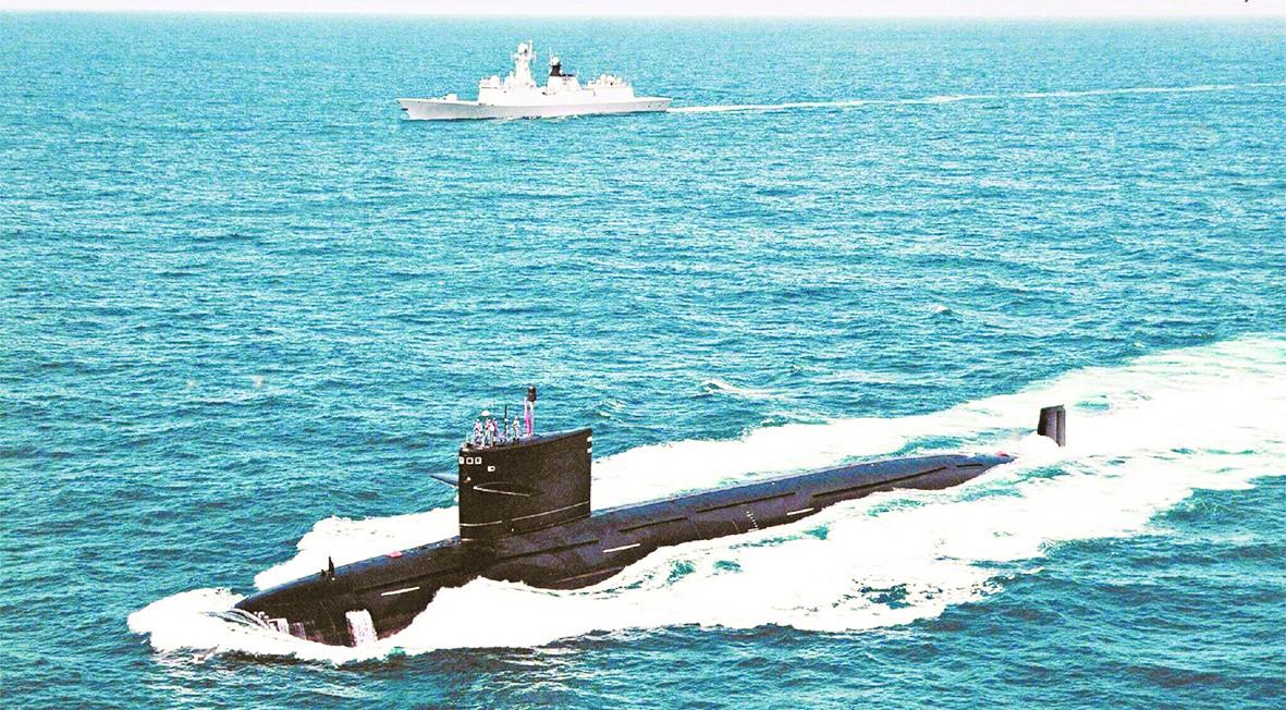 """更安静致命!美媒称""""中国潜艇威胁""""让美军紧张"""