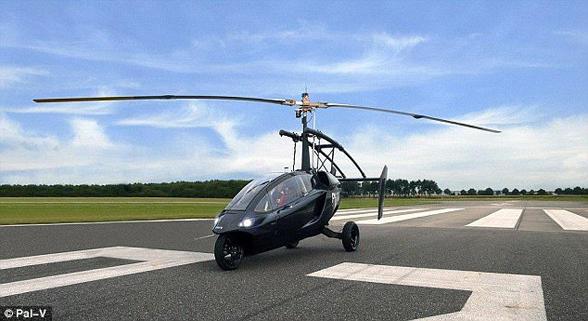 荷兰陆空两用飞行车将组装  有望2018年底开售