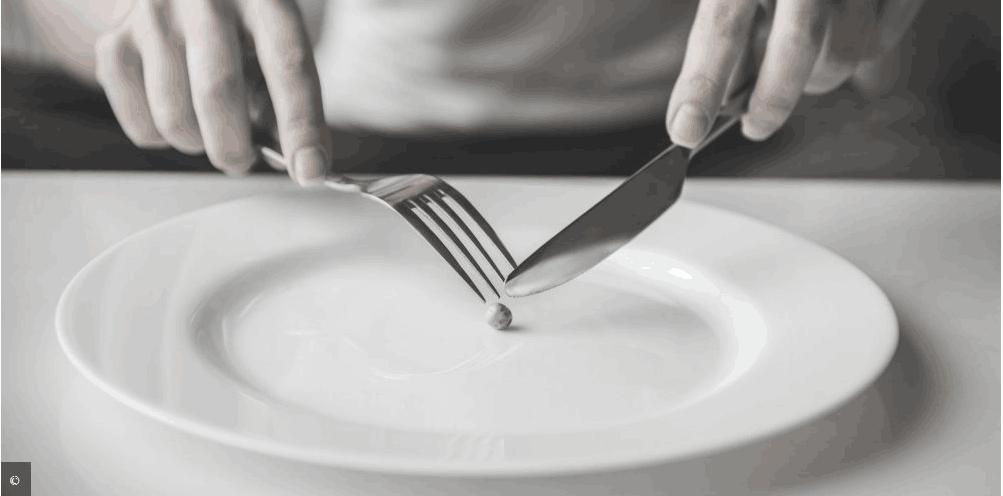 节食减肥有风险 法媒提醒:当心患上厌食症