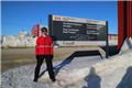 中国驻加拿大武官完成北极马拉松创纪录