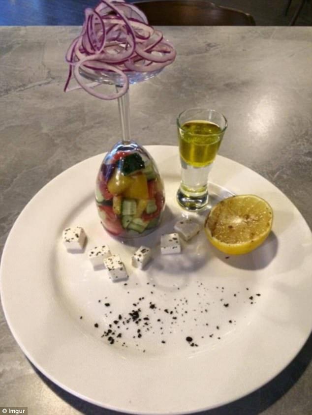 那些不可思议的另类餐具图片