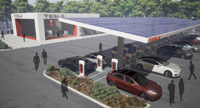 特斯拉主动出击 欲同车企分享超级充电站