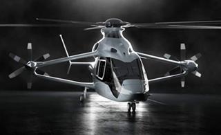 空客未来高速直升机亮相 充满科幻风格