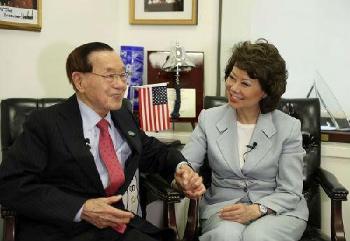 美交通部长赵小兰:父亲把我和故乡中国联系在一起