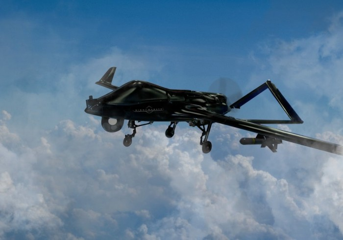 德事隆Nightwarden战术无人机系统亮相巴黎航展