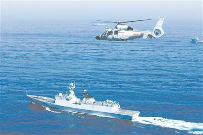 海军新型驱逐舰入列三年 年均航程都超过3万海里