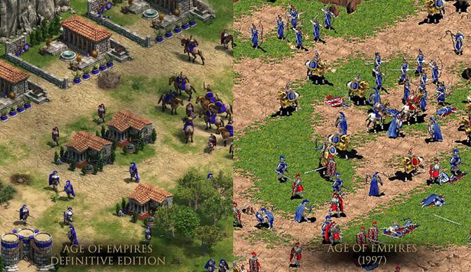 20年前的《帝国时代》回来了 终极版4K重制画质