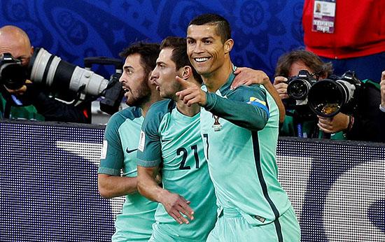 联合会杯-C罗头球破门 葡萄牙1-0俄罗斯取首胜