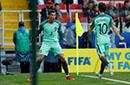 还有谁!C罗连续8届世界大赛破门 足球史上第1人