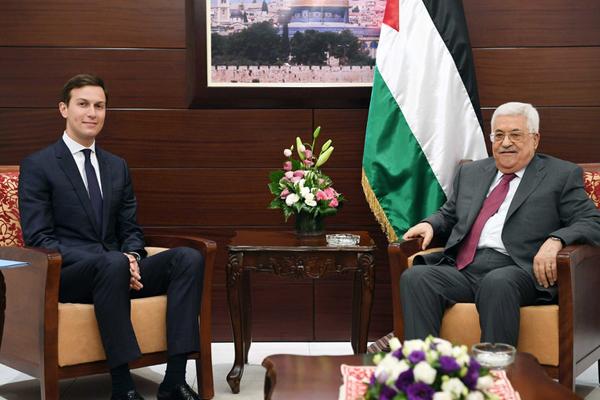 特朗普女婿频繁参与外交事务 出访中东会晤巴以领导人